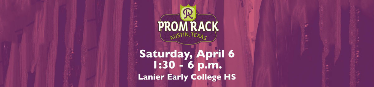 Prom Rack Sat., April 6 from 1:30-6 p.m., Lanier Early College High School