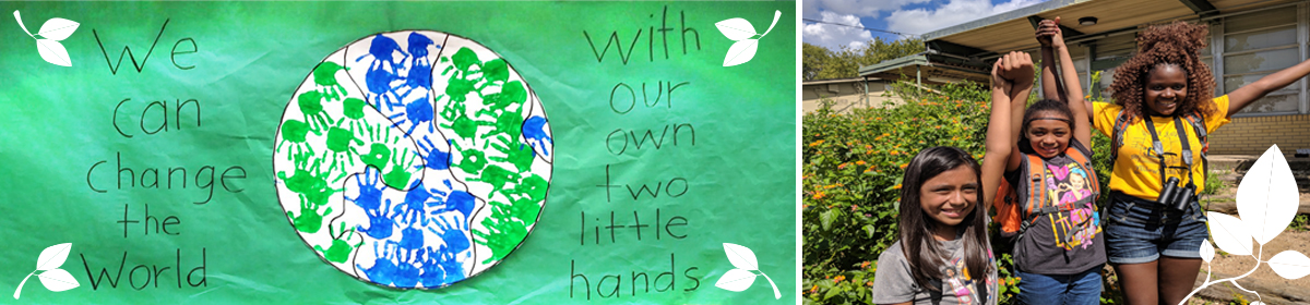 We can change the world with our own tow little hands