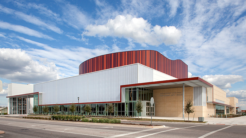 AISD Performing Arts Center Building Exterior