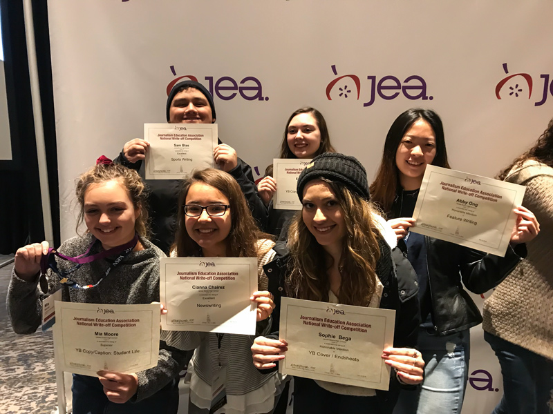 JEA Bowie High School winners