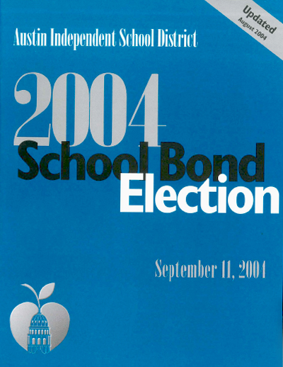 2004 Bond Election Guide