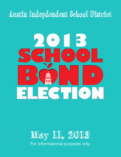 2013 Bond Election Guide