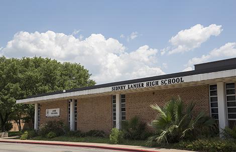 Map Of Texas High Schools.Lanier Early College High School Austin Isd
